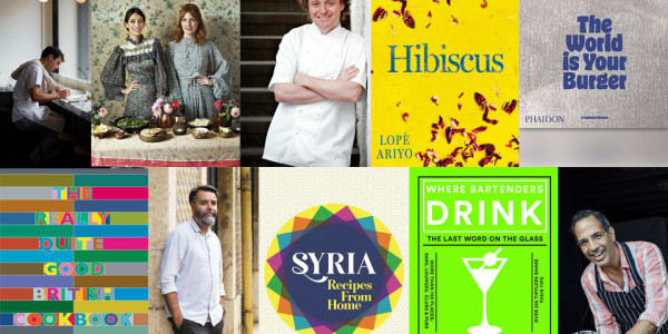A selection of modern cookbooks