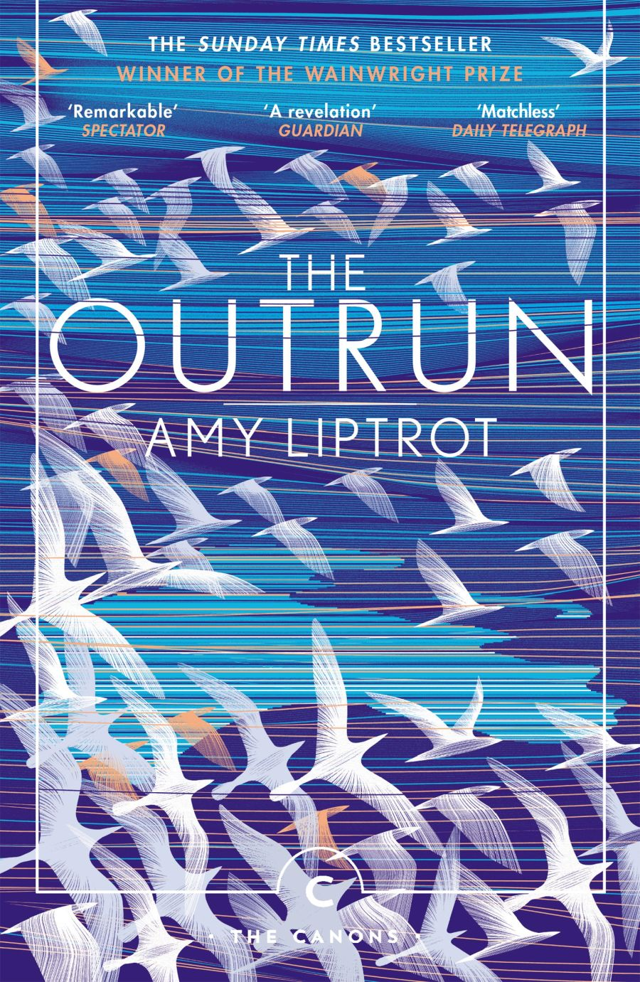 book cover: The outrun, by Amy Liptrot