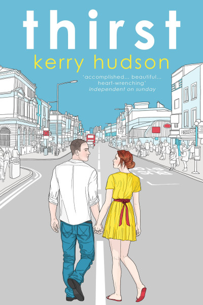 book cover: Thirst, by Kerry Hudson