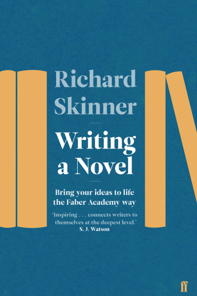 book cover: Writing a novel, by Richard Skinner