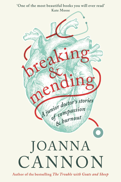book cover of Breaking & Mending, by Joanna Cannon
