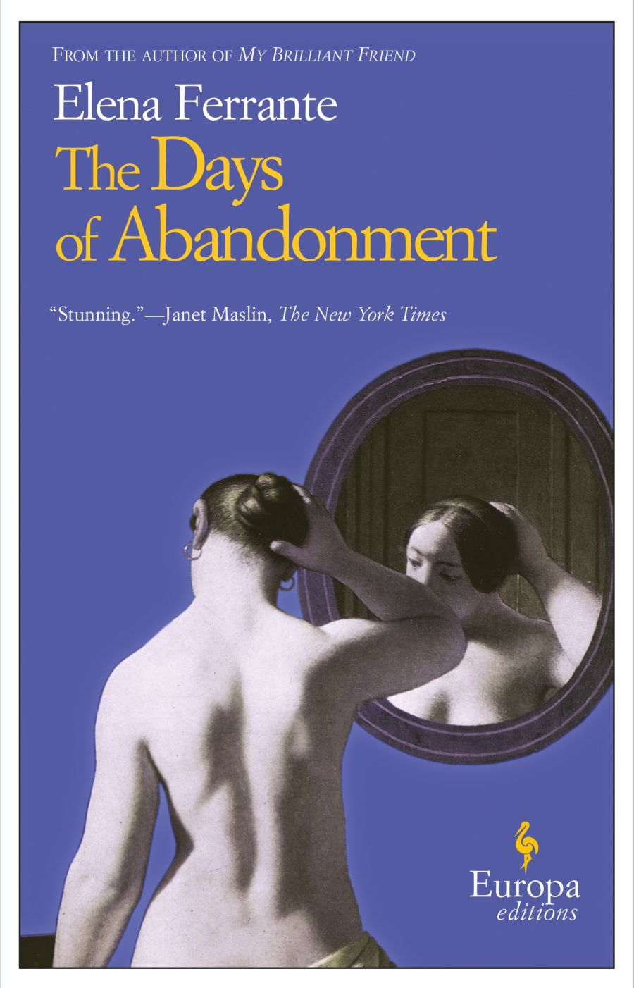 Book cover for Days of Abandonment by Elena Ferrante