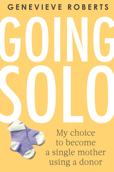Book cover: Going solo, by Genevieve Roberts