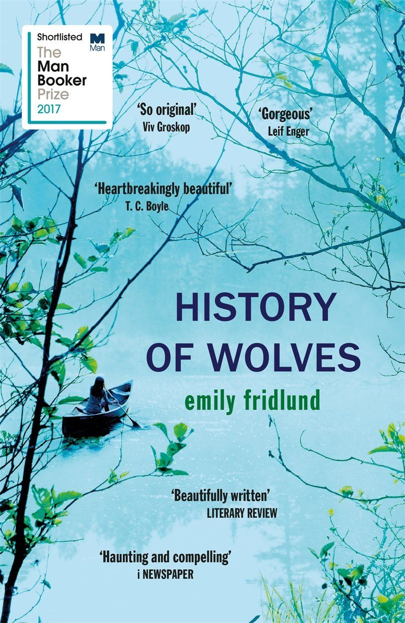 Book cover of The History of Wolves by Emily Fridlund