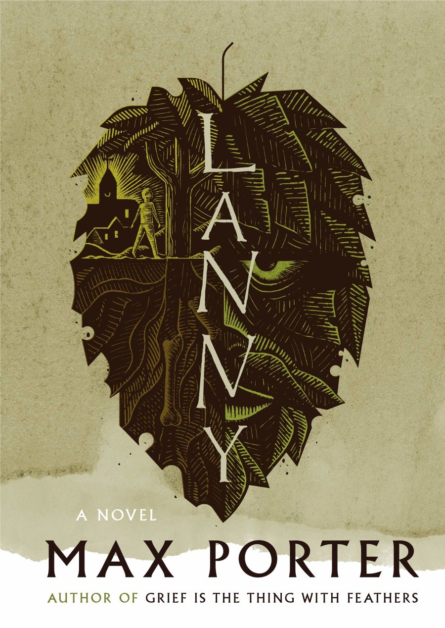 Book cover: Lanny, by Max Porter
