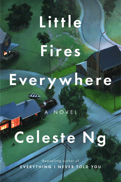 book cover of Little Fires Everywhere, by Celeste Ng