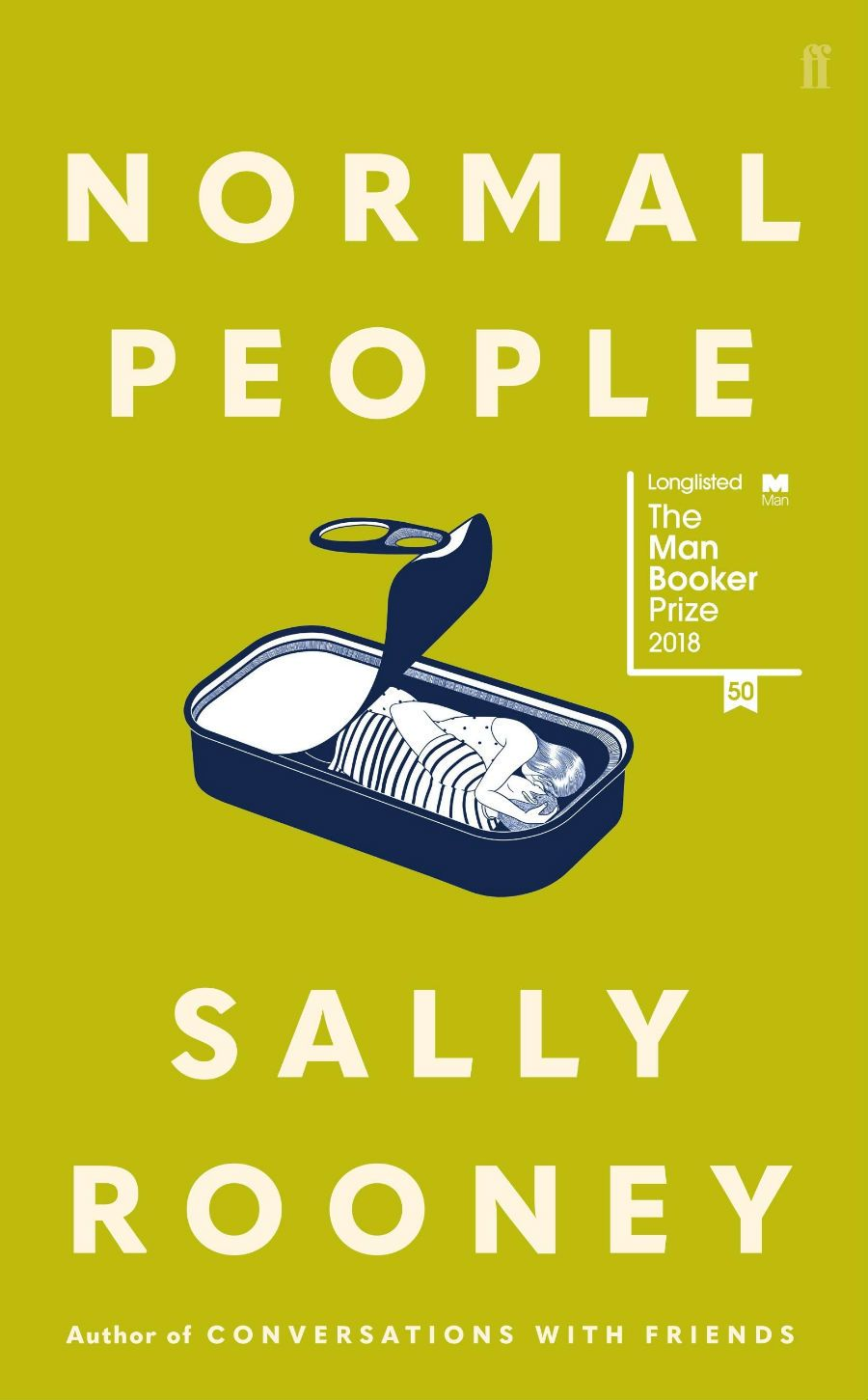 Book cover for Normal People, by Sally Rooney