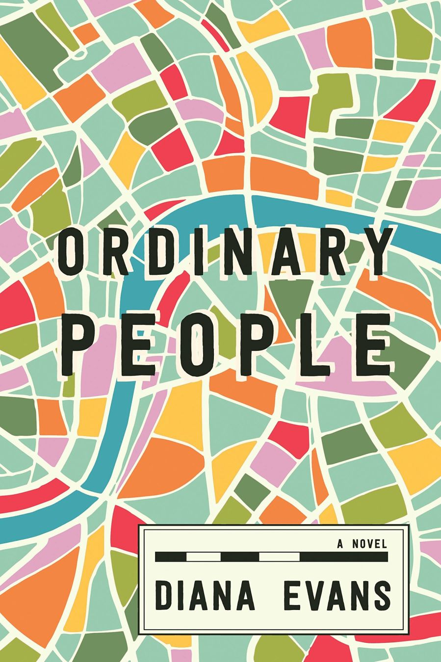 book cover of Ordinary People, by Diana Evans