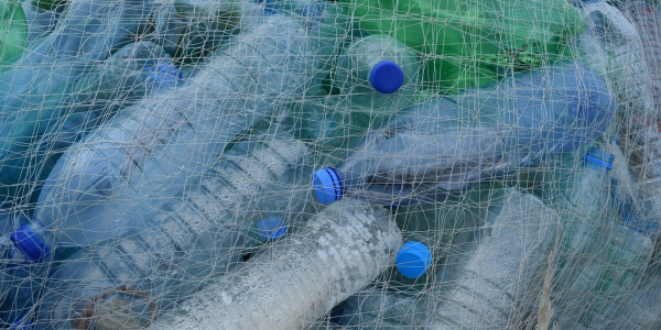 plastic-bottles-fishing-net
