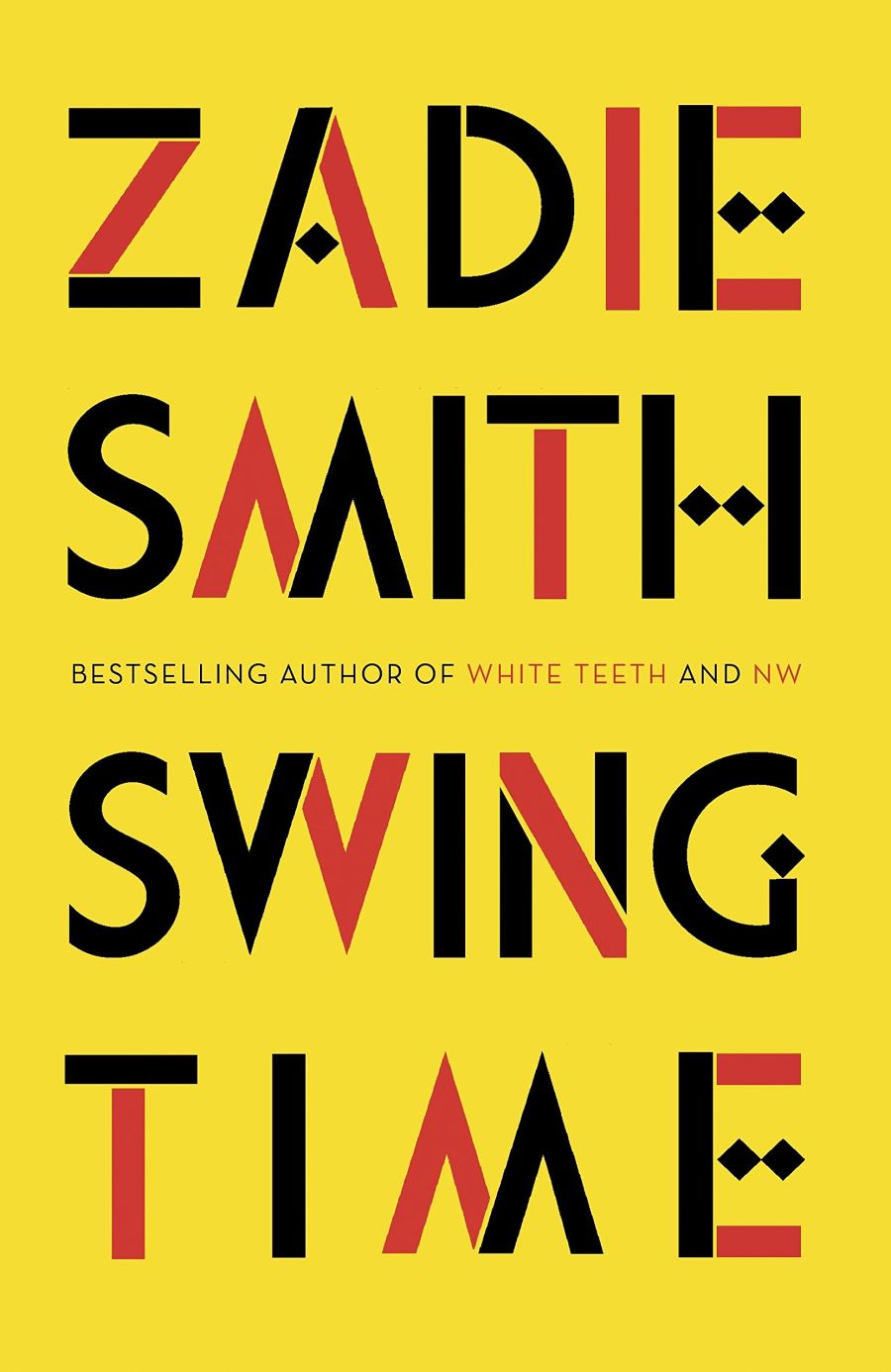 Book cover of Swing Time by Zadie Smith